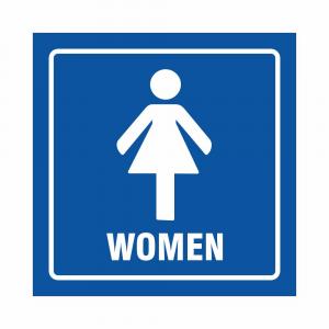 Cartello Toilette donne