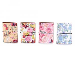 Portatessere 20 scomparti con design Shabby Flowers