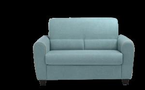 LIETA - Piccolo divano 2 posti in tessuto tecnico antimacchia e antigraffio