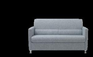 TUA - Piccolo divano 2 posti in tessuto antimacchia e antigraffio