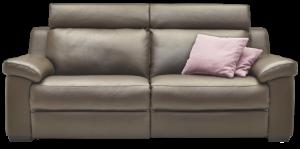 CLEN - Divano 3 posti con sedute relax manuali ed elettrici