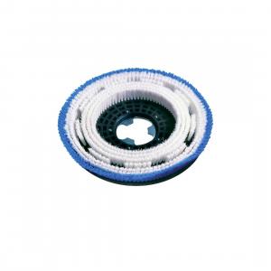 SPAZZOLA MOQUETTE PER LAVAGGIO TAPPETI 17 pollici - 430 mm valida per monospazzole Serie SB e Serie C Diam. 430 Ghibli & Wirbel cod. 00-243