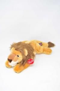 Stuffed Animal Trudi Of Lion 48 Cm