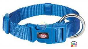 Trixie collare premium blu