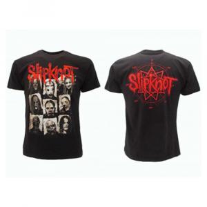T-Shirt Slipknot doppia stampa taglia XS S M L XL XXL
