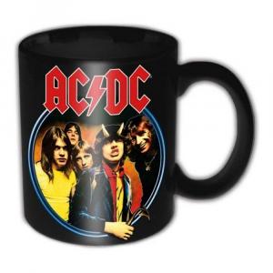 Tazza mug AC/DC Highway to Hell originale rock