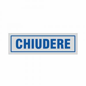 Adesivo Chiudere
