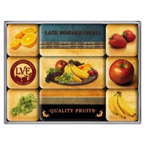 Set 9 magneti Quality Fruits