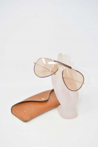 Sunglasses Rayban Avitator Craft,lens Ambrata Chiara Original With Case