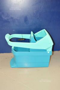 Bucket Mocho Leifheit Green Water With Handle