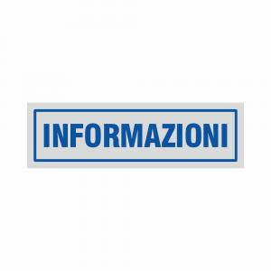 Adesivo Informazioni