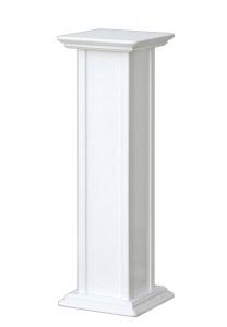 Weißer Blumenständer Höhe 80 cm - PROMO