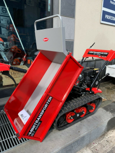 Minitransporter Cingolato IBEA IBT-4000 Ribaltabile - Motore: Subaru Robin EX13D, 4 tempi, OHV - Kg 400