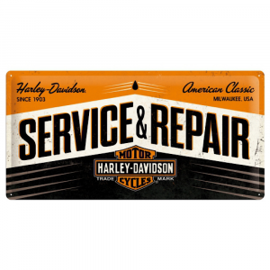 Cartello cm 25 x 50 Harley Davidson