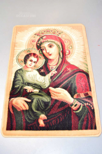 Carpet Tapestry Madonna With Child 112x75 Cm