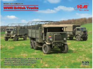 British Trucks WWII