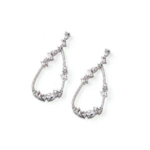 Sovrani orecchini luce donna in argento 925 e zirconi bianchi  J5281