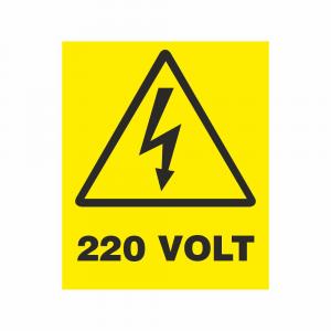Adesivo Pericolo Corrente elettrica