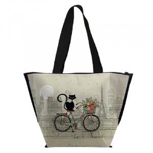 Borsa termica gatti in bicicletta (lbip29c02)