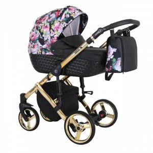 Baby Atelier - Baby Pram 3in1 Tiaro Premium - telaio gold o silver - TI 01