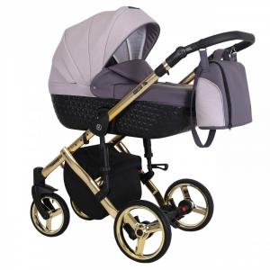 Baby Atelier - Baby Pram 3in1 Tiaro Premium - telaio gold o silver - TI 02