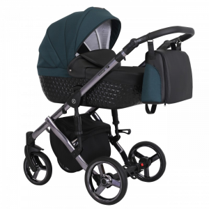 Baby Atelier - Baby Pram 3in1 Tiaro Premium - telaio gold o silver - TI 04