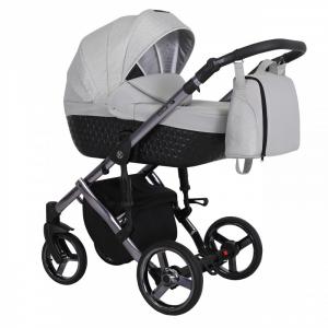 Baby Atelier - Baby Pram 3in1 Tiaro Premium - telaio gold o silver - TI 05