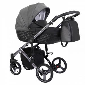 Baby Atelier - Baby Pram 3in1 Tiaro Premium - telaio gold o silver - TI 06
