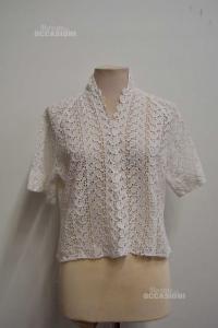 T-shirt Woman Bainca Lace Size M