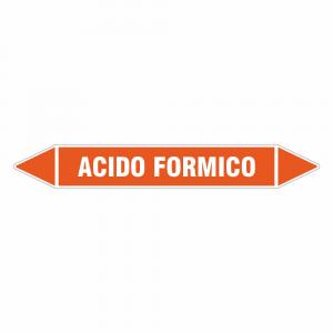 Adesivo per tubazioni Acido formico