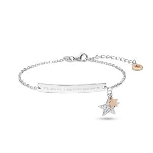 Comete Stella bracciale donna in argento con stella BRA216