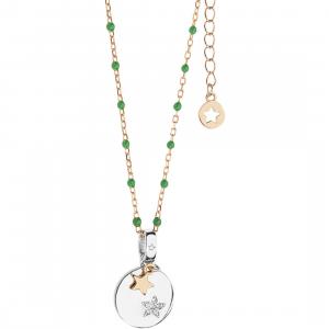 Comete Stella collana donna in argento con ciondolo GLA227