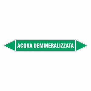 Adesivo per tubazioni Acqua demineralizzata