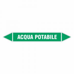 Adesivo per tubazioni Acqua potabile