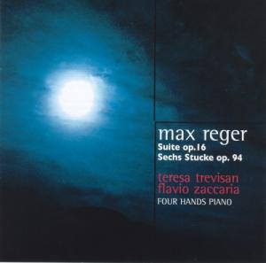 MAX REGER  -  SUITE OP.16  /  SECHS STUCKE OP.94