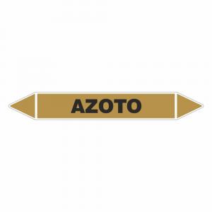 Adesivo per tubazioni Azoto