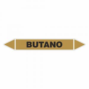 Adesivo per tubazioni Butano