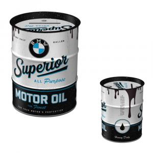 Salvadanaio in metallo Bmw Superior Motor Oil