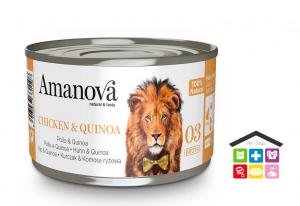 Amanova Pollo e Quinoa in brodo 0,70g 03