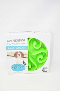 Bowl For Dogs Slow-feeding Bowl New