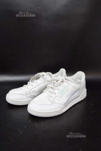 Scarpe Bambina Adidas Continetal N 33 1/2 Bianco