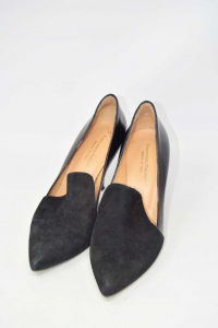 Pointed-toe Pump Woman Black N° 37 Francesco Paludetti,suede