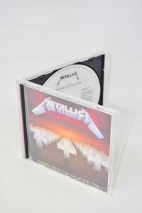 Cd Metallica Master Of Puppets
