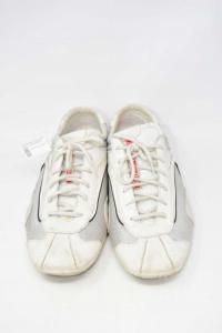 Shoes Man Prada White Made In Italy N° 44.5