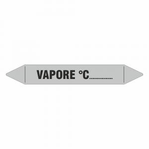 Adesivo per tubazioni Vapore temperatura