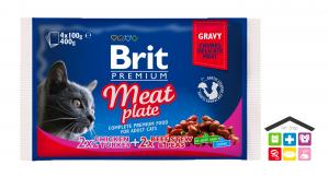 Brit Premium Cat Pouchs  carne