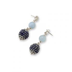 Sovrani orecchini pendenti donna pendenti Ambre Cristal magique J6142