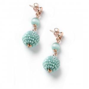 Sovrani orecchini pendenti donna pendenti Nina Cristal magique J4829