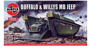 Buffalo Amphibian & Jeep