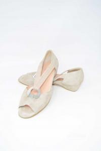 Sandals Woman N° 39 New Cinzia Valle Beige